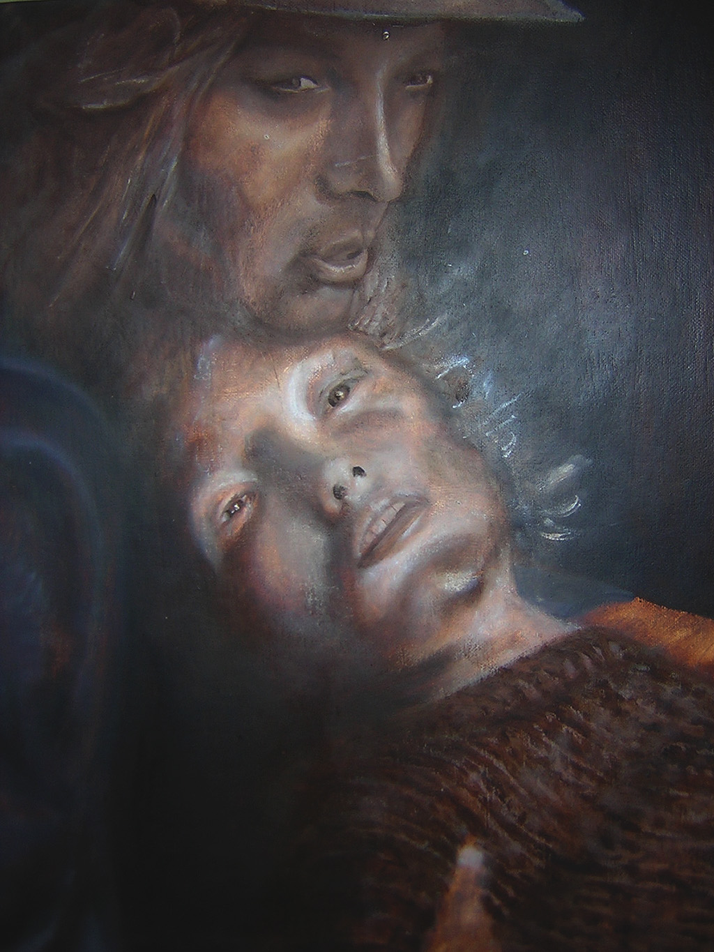 Les Miserables (Portrait of a Dying Woman), 2001