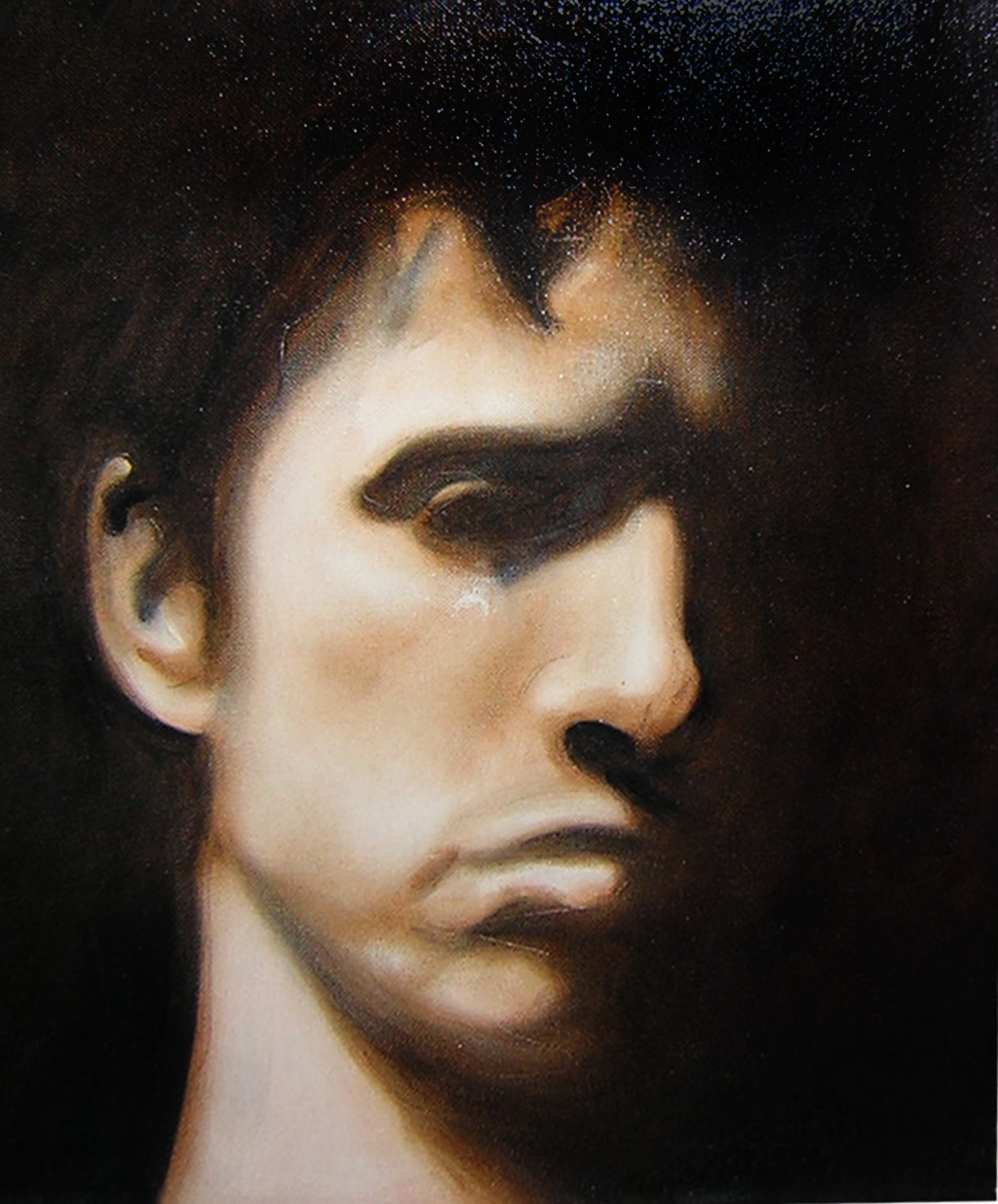 Sadness (Portrait of Tyrone), 2001