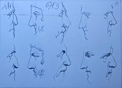 The Bargues (Noses), 2007