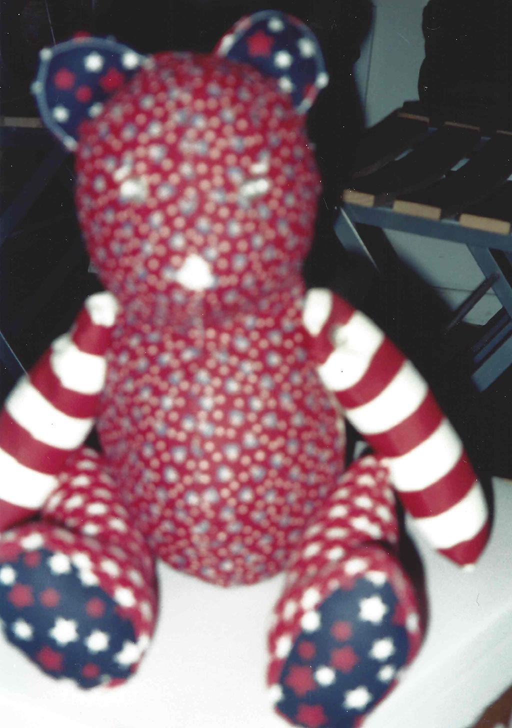 Fourth of July Calico Bear, 1994