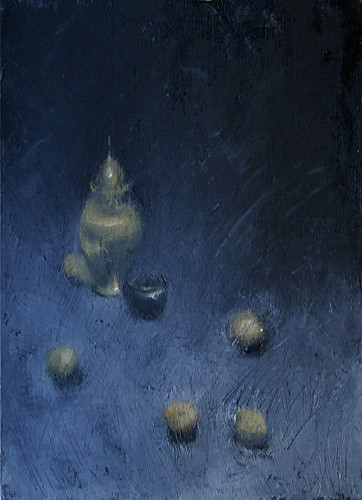 William Eric : Ginger jar and Asian pears, 2006.