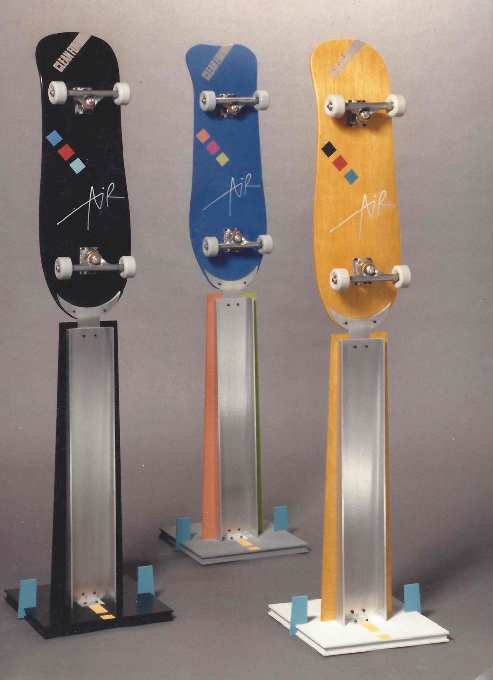 William Eric : Skateboard clothes trees, 1998.